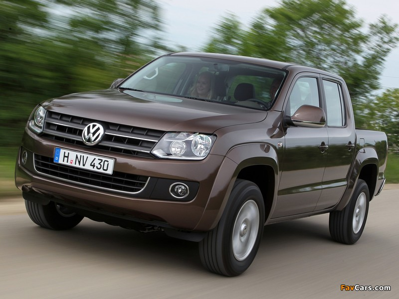 Volkswagen Amarok Double Cab Comfortline 2010 images (800 x 600)