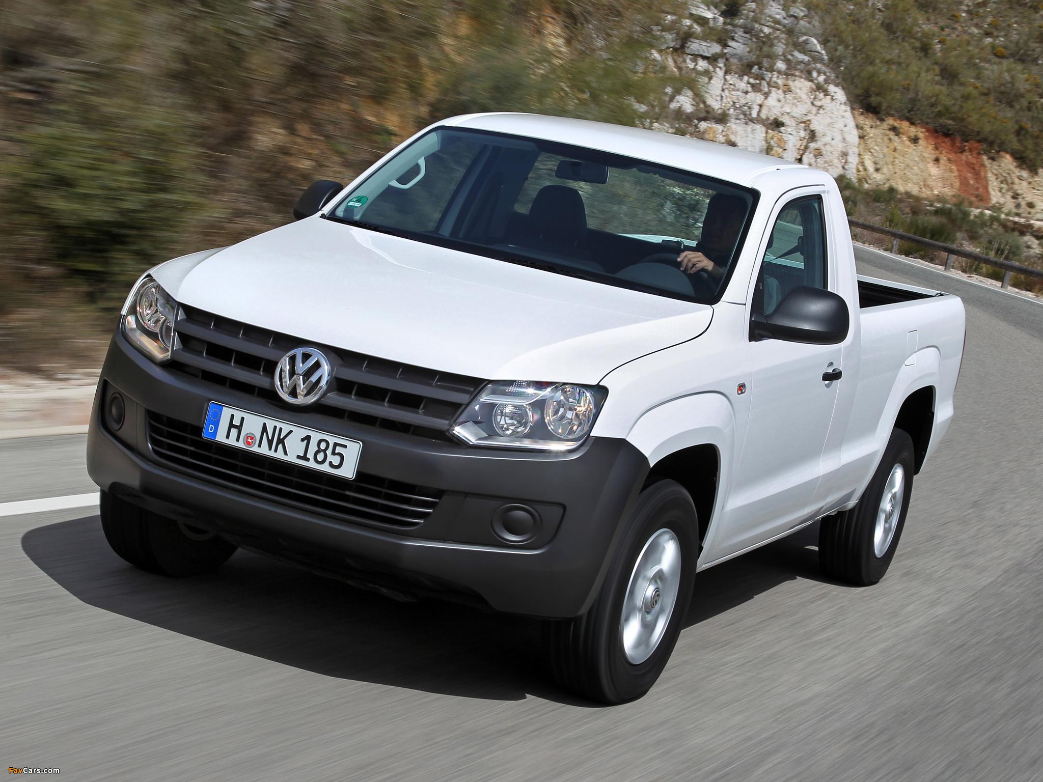 Volkswagen Amarok Single Cab Comfortline 2010 images (2048 x 1536)