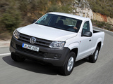 Volkswagen Amarok Single Cab Comfortline 2010 images