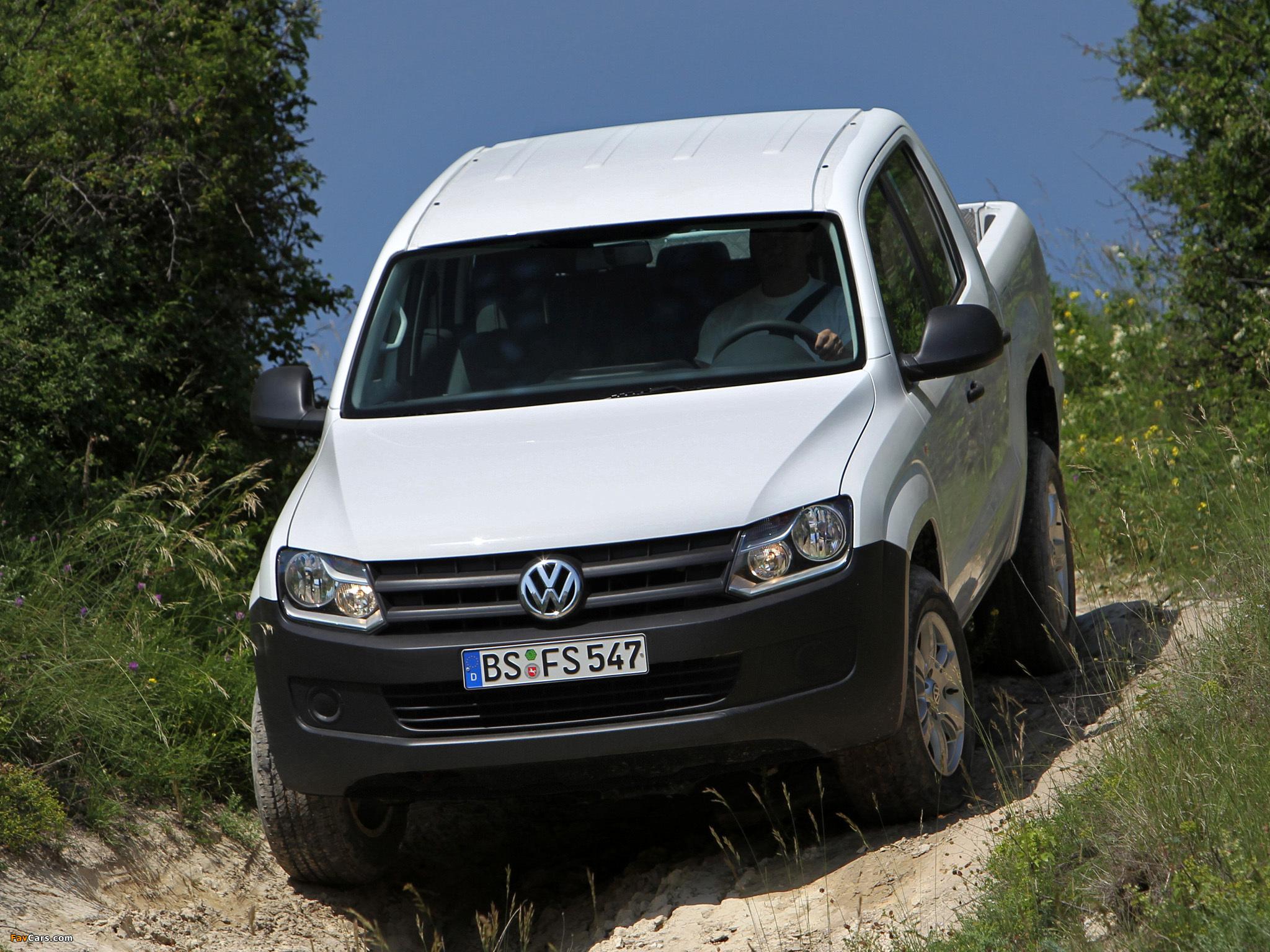 Volkswagen Amarok Double Cab Trendline 2010 images (2048 x 1536)
