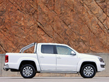 Volkswagen Amarok Double Cab Highline ZA-spec 2010 photos