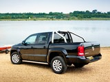 Volkswagen Amarok Double Cab Trendline UK-spec 2010 photos