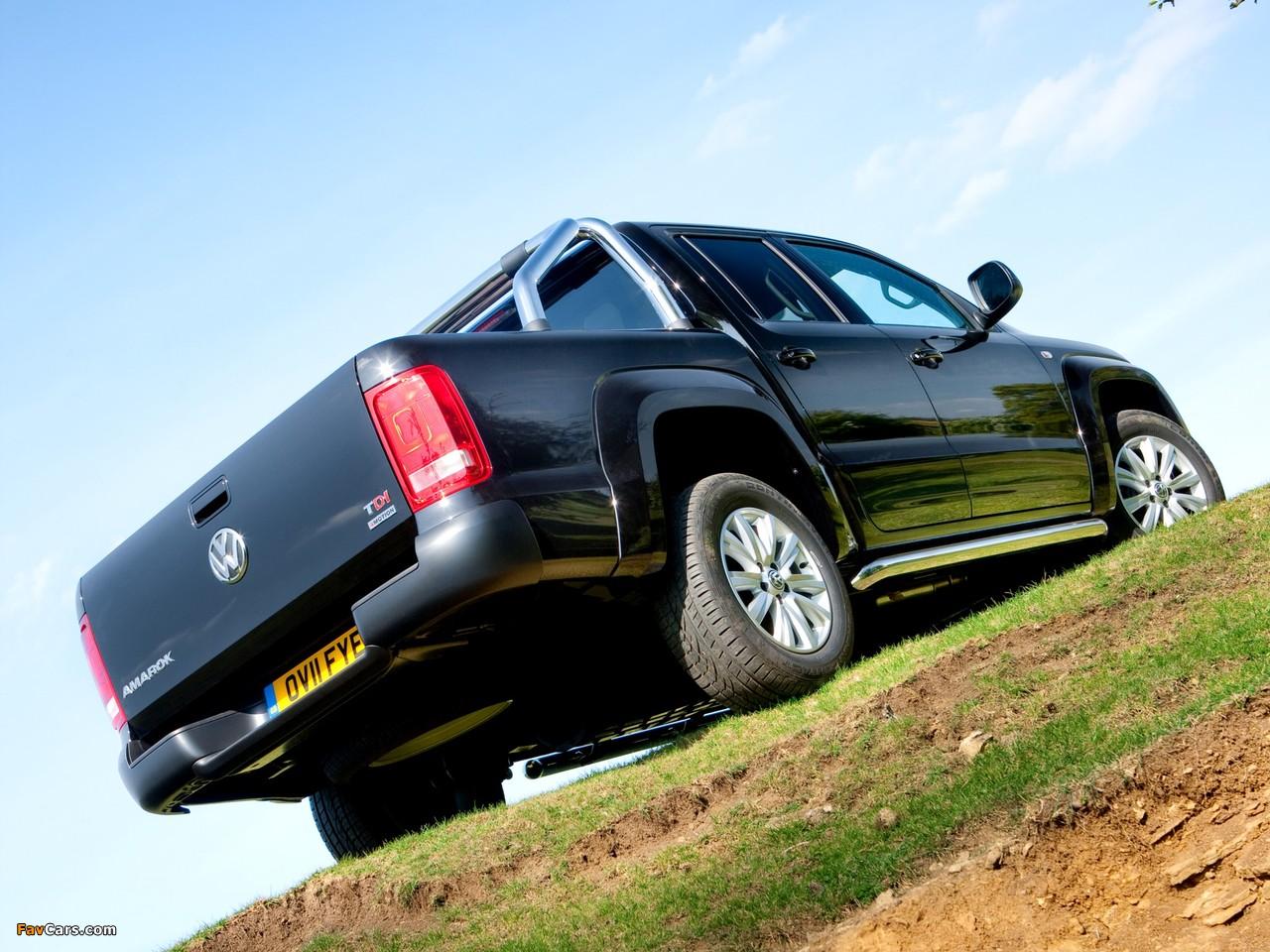 Volkswagen Amarok Double Cab Trendline UK-spec 2010 photos (1280 x 960)