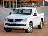 Volkswagen Amarok Single Cab Comfortline ZA-spec 2010 photos