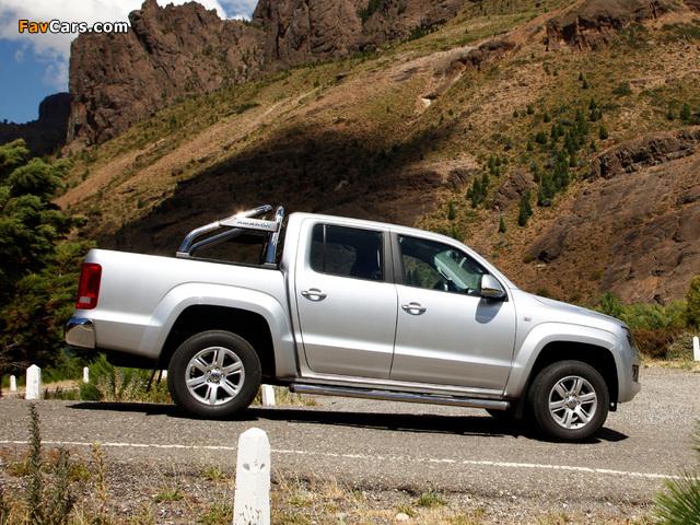 Volkswagen Amarok Double Cab Highline 2010 photos (640 x 480)