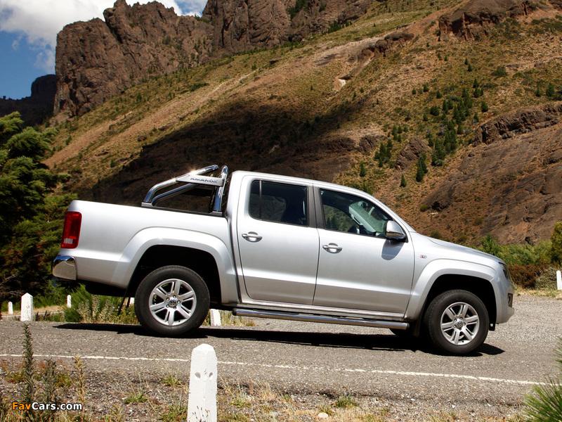 Volkswagen Amarok Double Cab Highline 2010 photos (800 x 600)