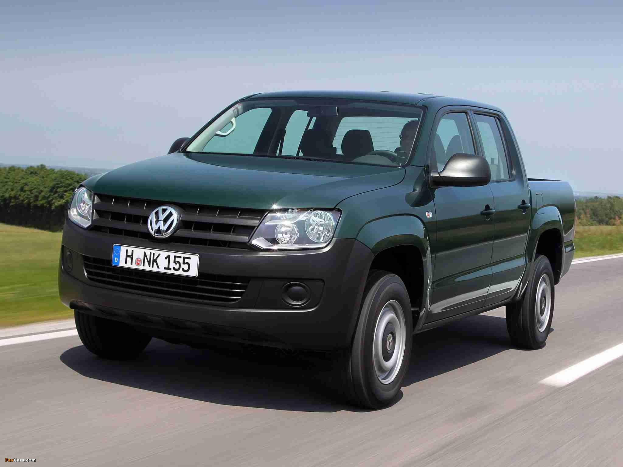 Volkswagen Amarok Double Cab Trendline 2010 pictures (2048 x 1536)