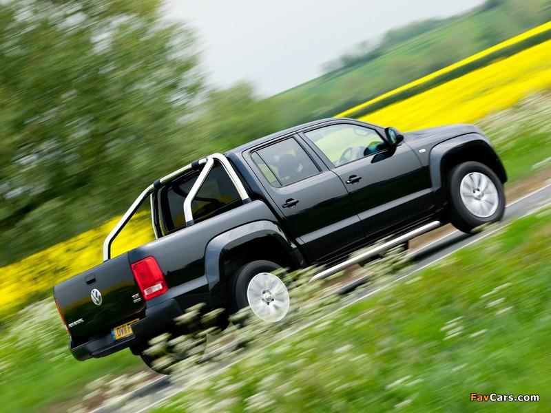 Volkswagen Amarok Double Cab Trendline UK-spec 2010 wallpapers (800 x 600)