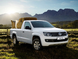 Volkswagen Amarok Single Cab Comfortline ZA-spec 2010 wallpapers