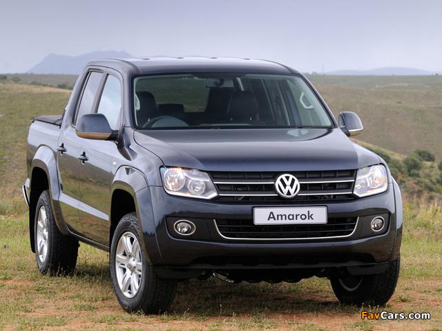 Volkswagen Amarok Double Cab Highline ZA-spec 2010 wallpapers (640 x 480)