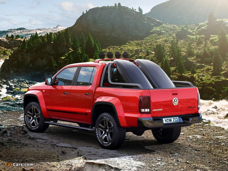 Volkswagen Amarok Canyon Concept 2012 images (800 x 600)