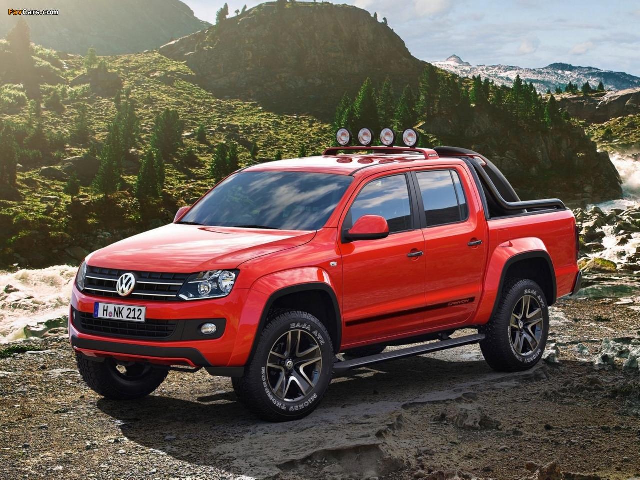 Volkswagen Amarok Canyon Concept 2012 pictures (1280 x 960)