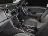 Volkswagen Amarok Single Cab Trendline AU-spec 2012 pictures