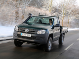 Volkswagen Amarok Single Cab Trendline Dreiseitenkipper 2012 wallpapers