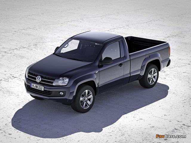 Volkswagen Amarok Single Cab Comfortline 2010 wallpapers (640 x 480)