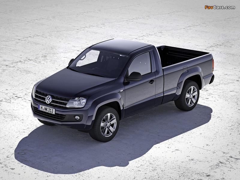 Volkswagen Amarok Single Cab Comfortline 2010 wallpapers (800 x 600)
