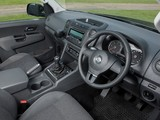 Volkswagen Amarok Double Cab Trendline UK-spec 2010 wallpapers