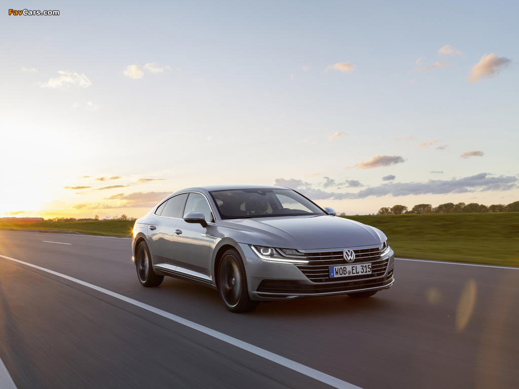 Volkswagen Arteon Elegance 2017 images (1024 x 768)