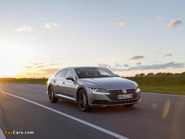 Volkswagen Arteon Elegance 2017 images (640 x 480)