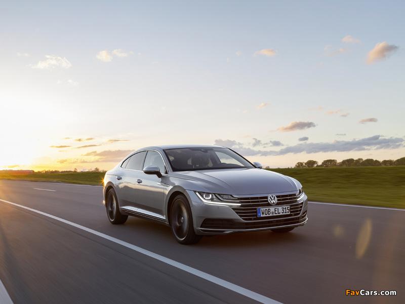 Volkswagen Arteon Elegance 2017 images (800 x 600)