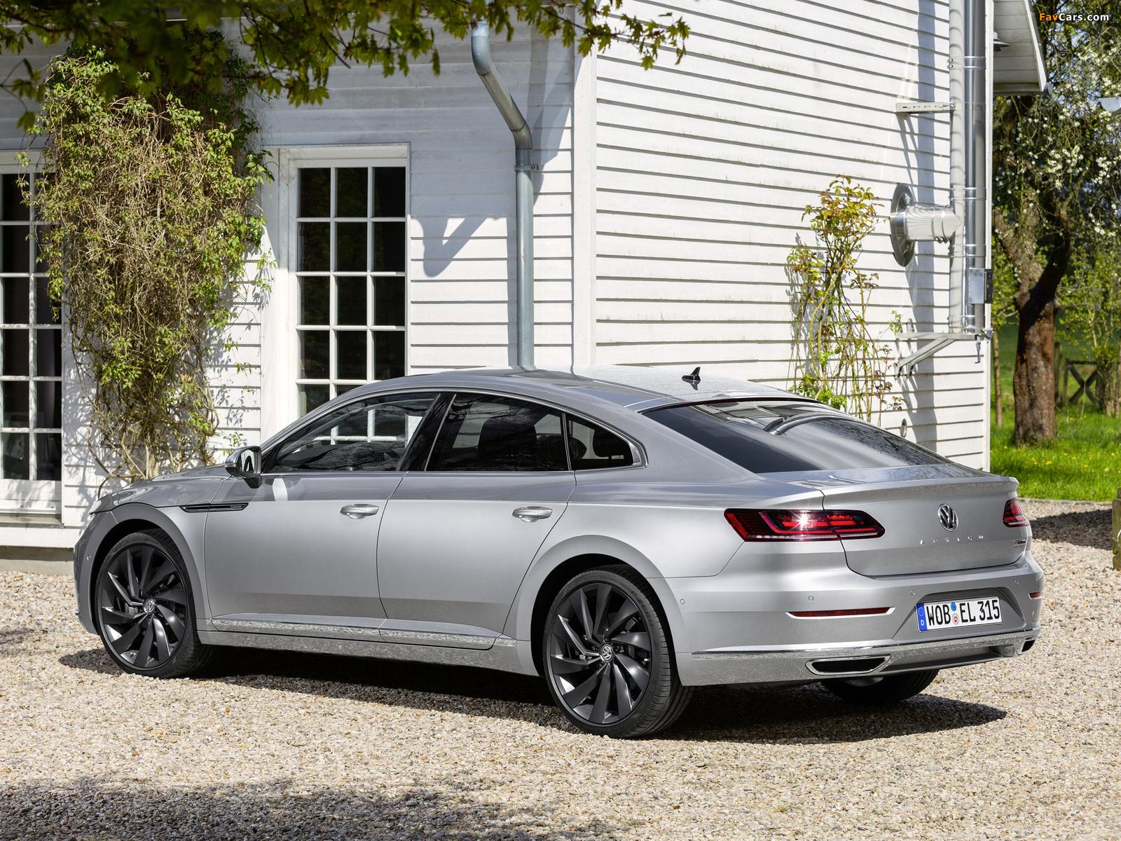 Volkswagen Arteon Elegance 2017 pictures (1600 x 1200)