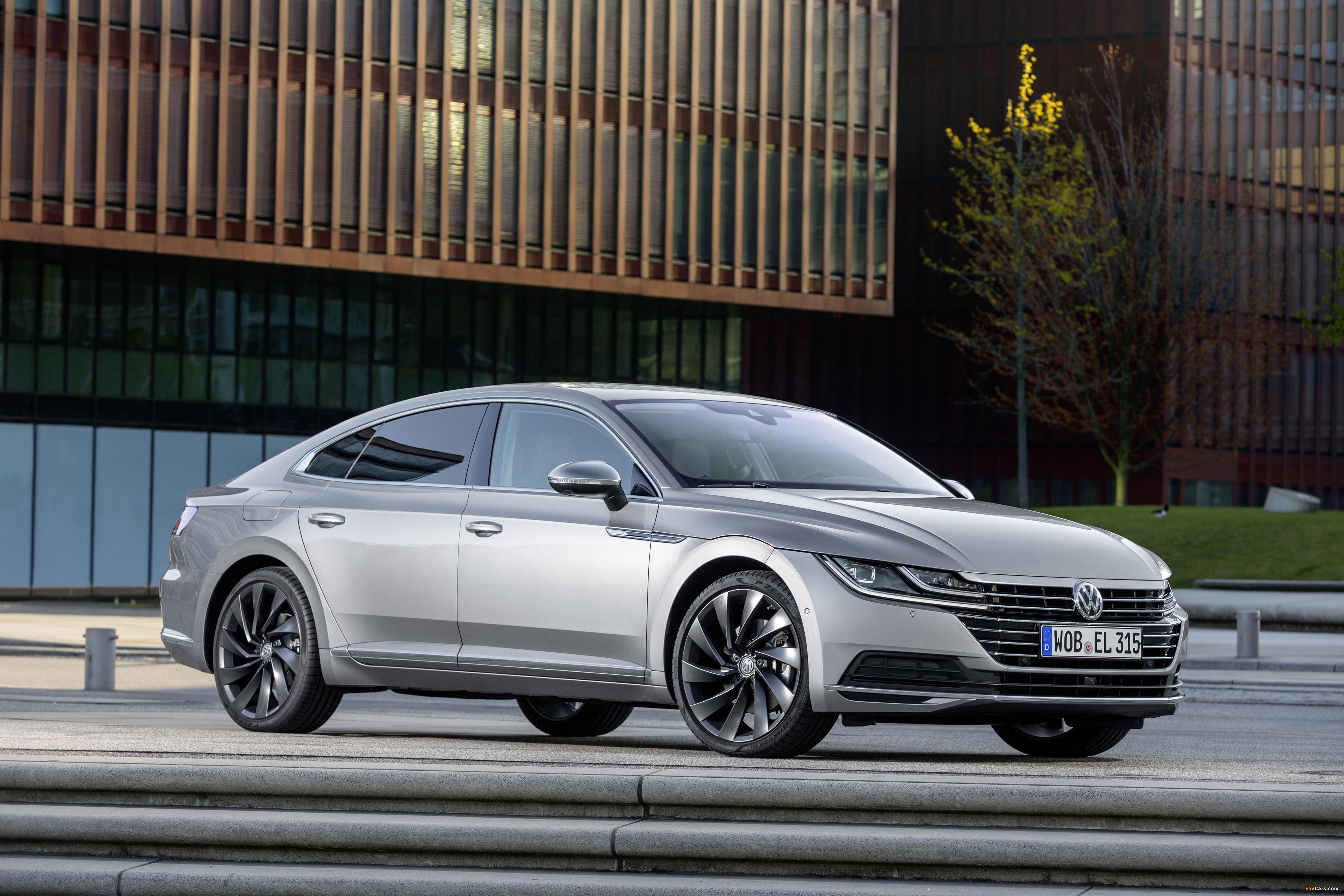 Volkswagen Arteon Elegance 2017 pictures (4069 x 2713)