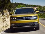 Volkswagen Atlas V6 4MOTION 2017 photos