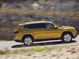 Volkswagen Atlas V6 4MOTION 2017 wallpapers