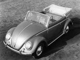 Images of Volkswagen Käfer 1200 Cabriolet 1954–65
