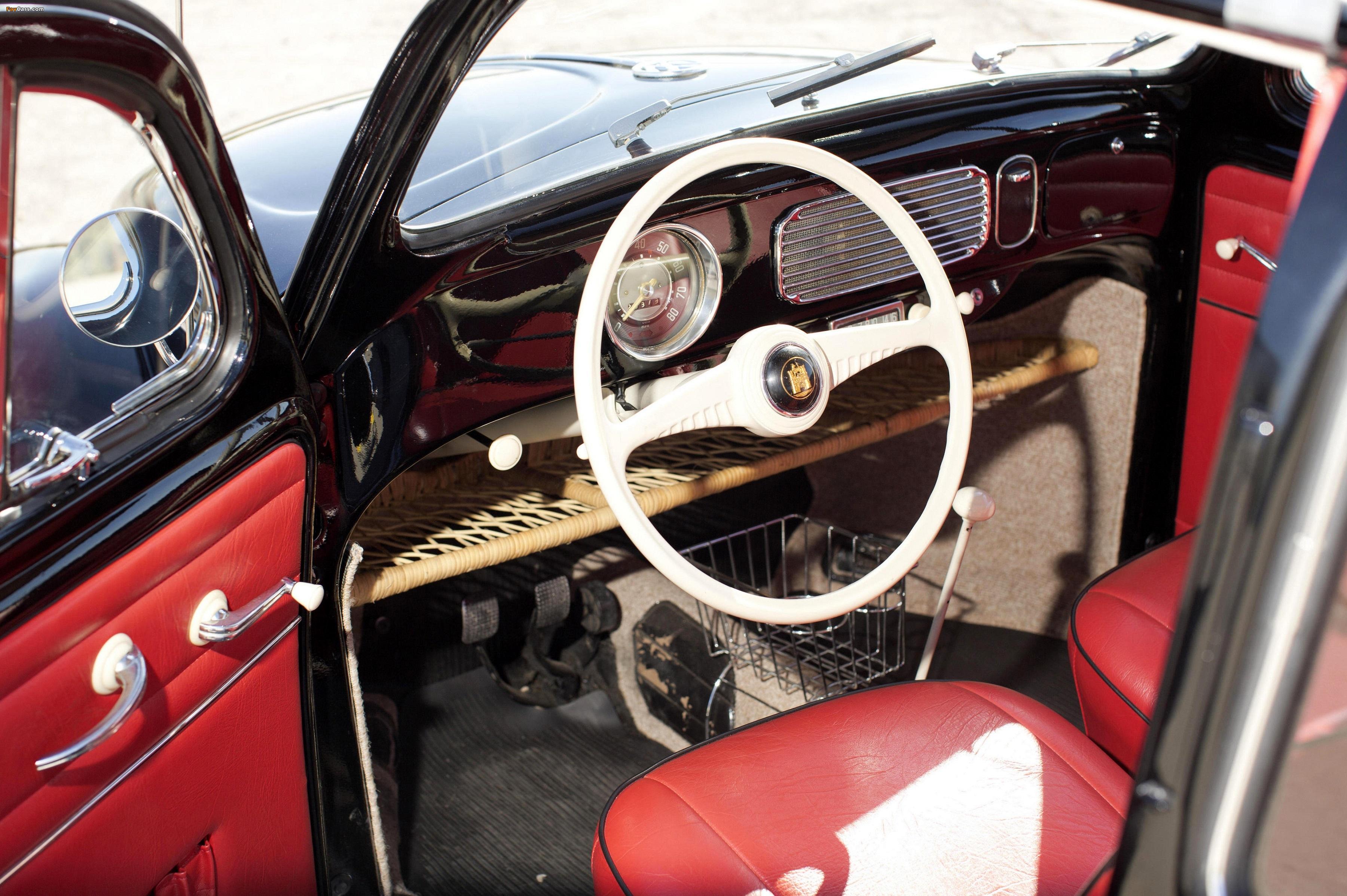 Images of Volkswagen Beetle North America 1954 (3600 x 2395)