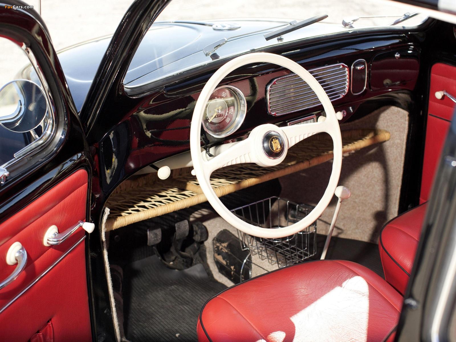 Images of Volkswagen Beetle North America 1954 (1600 x 1200)