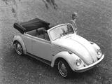 Images of Volkswagen Beetle Convertible 1968–72