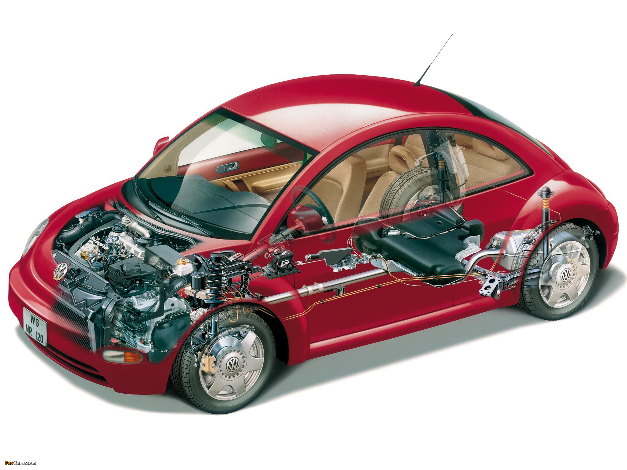 Images of Volkswagen New Beetle US-spec 1998–2005 (2048 x 1536)