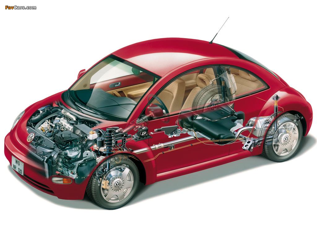 Images of Volkswagen New Beetle US-spec 1998–2005 (1024 x 768)