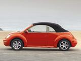 Images of Volkswagen New Beetle Convertible 2000–05