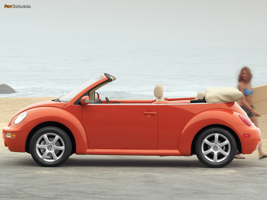 Images Of Volkswagen New Beetle Convertible 2000 05 1024x768