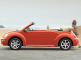 Images of Volkswagen New Beetle Convertible 2000–05