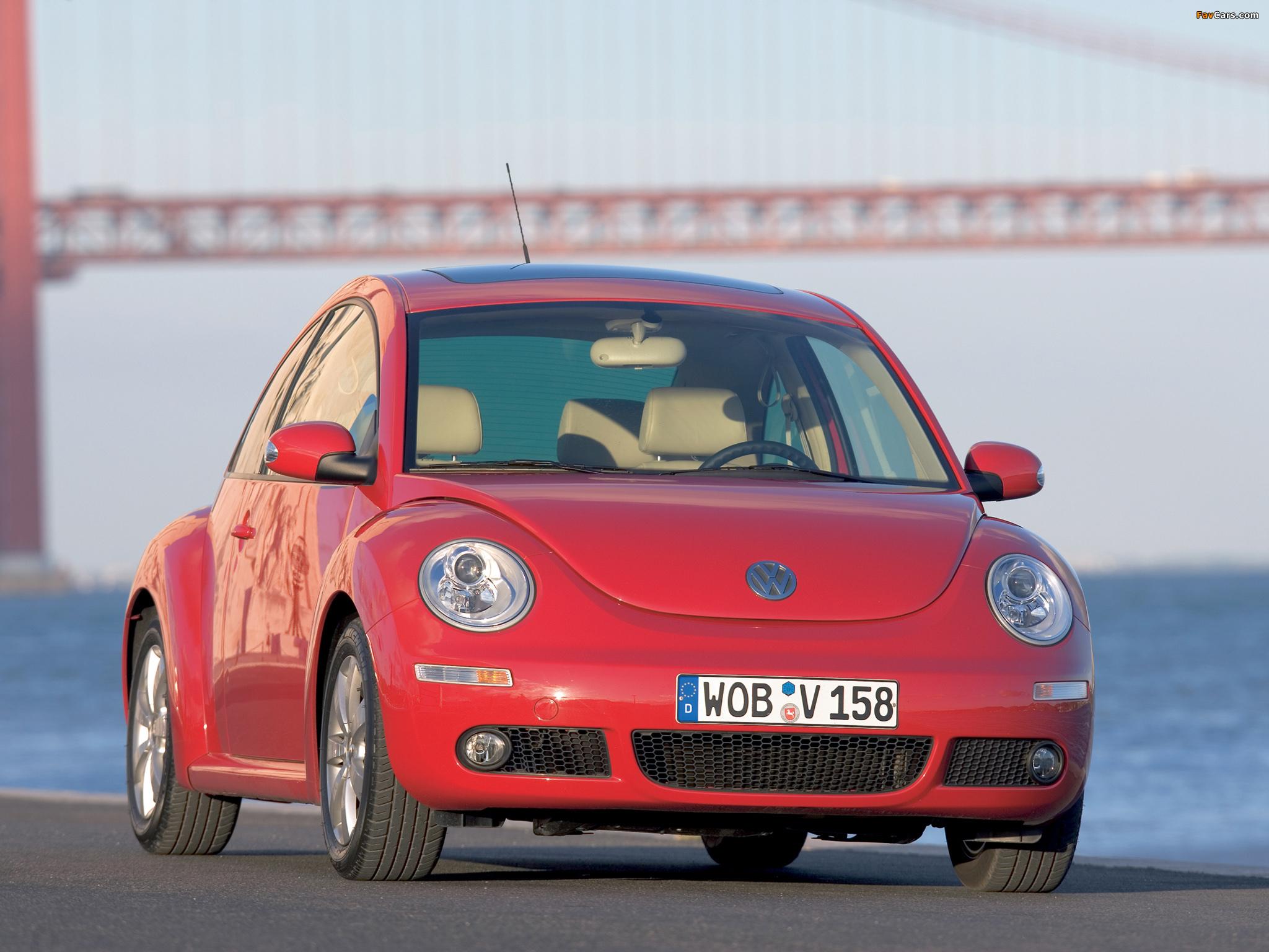 Images of Volkswagen New Beetle 2006–10 (2048 x 1536)