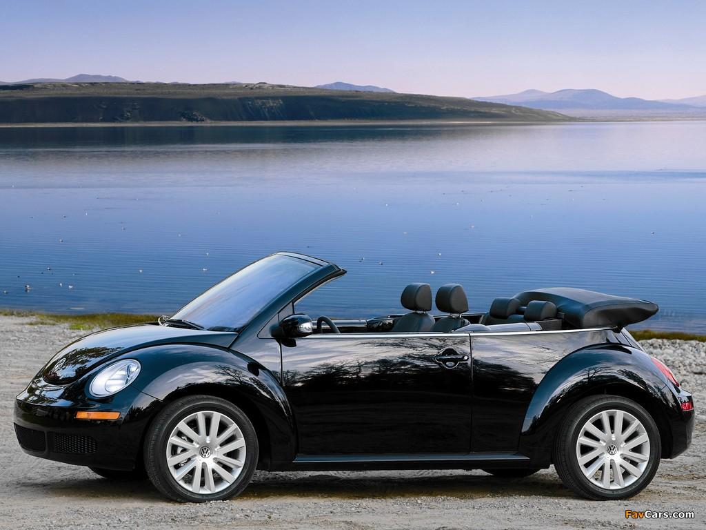 Images of Volkswagen New Beetle Convertible 2006–10 (1024 x 768)