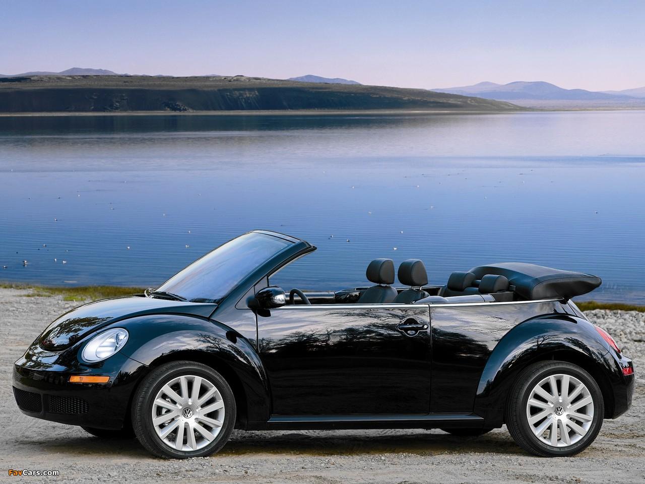 Images of Volkswagen New Beetle Convertible 2006–10 (1280 x 960)