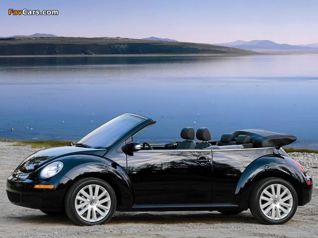 Images of Volkswagen New Beetle Convertible 2006–10 (640 x 480)
