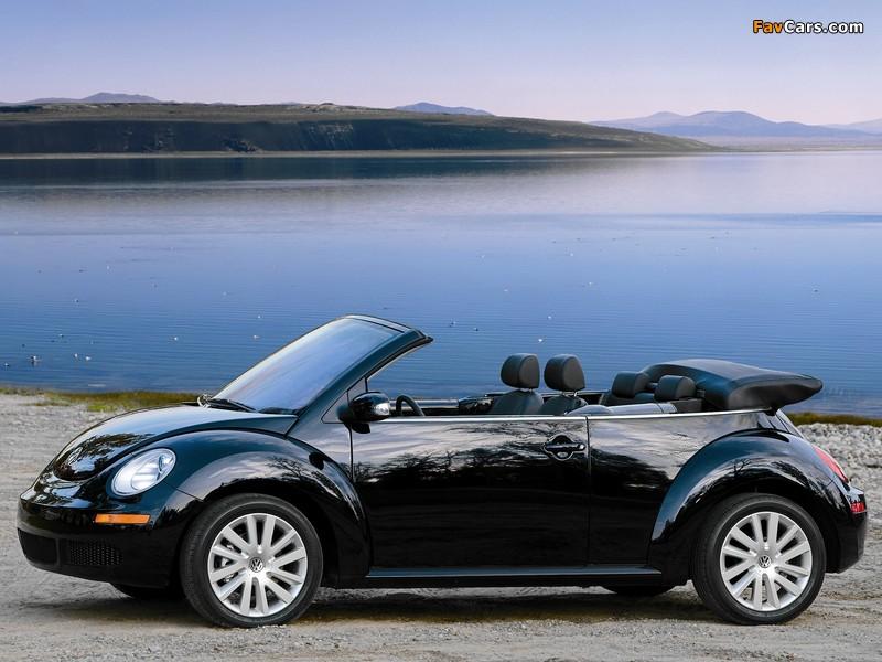 Images of Volkswagen New Beetle Convertible 2006–10 (800 x 600)