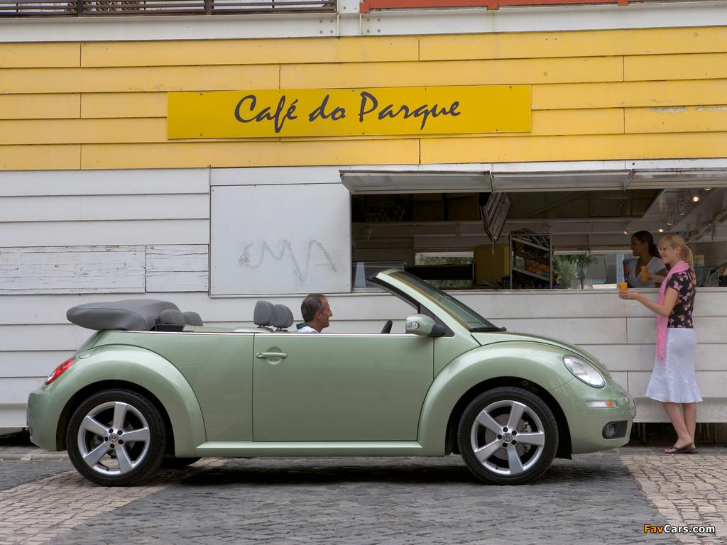 Images of Volkswagen New Beetle Cabrio 2006–10 (1024 x 768)