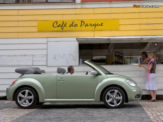 Images of Volkswagen New Beetle Cabrio 2006–10 (640 x 480)