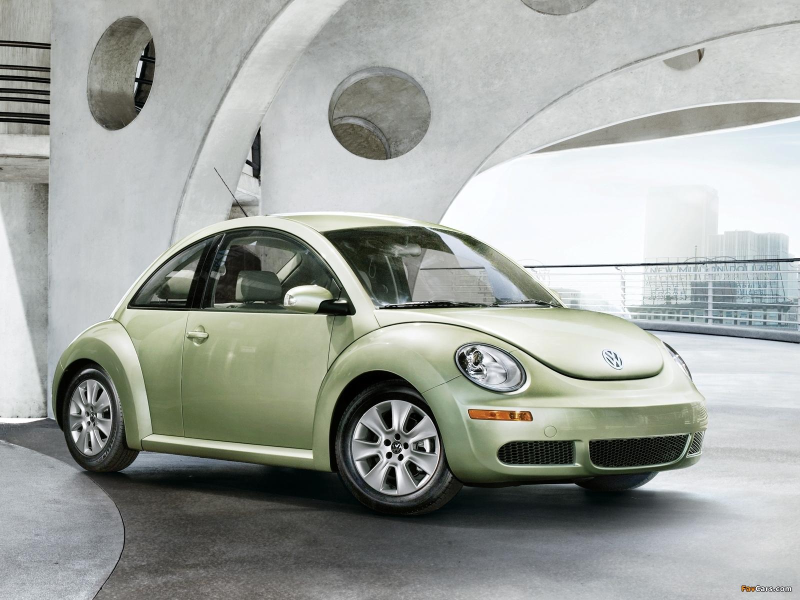 Images of Volkswagen New Beetle US-spec 2006–10 (1600 x 1200)