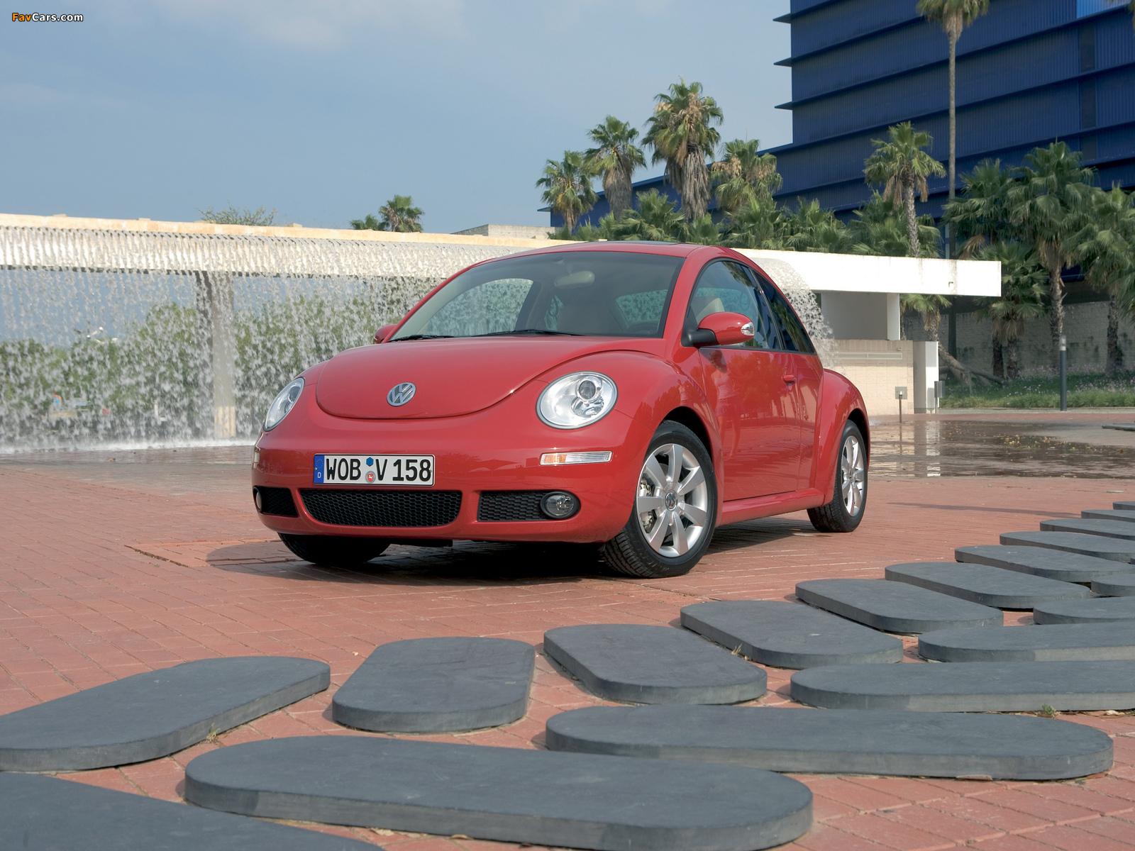 Images of Volkswagen New Beetle 2006–10 (1600 x 1200)