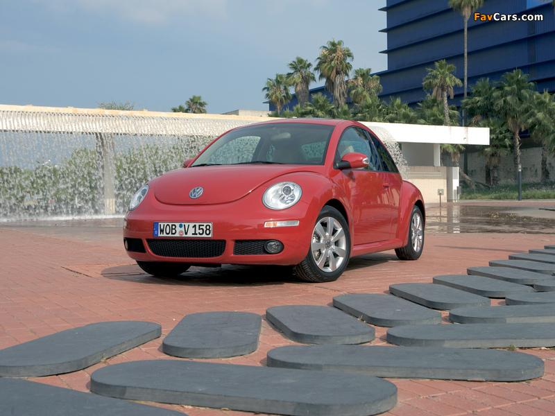 Images of Volkswagen New Beetle 2006–10 (800 x 600)
