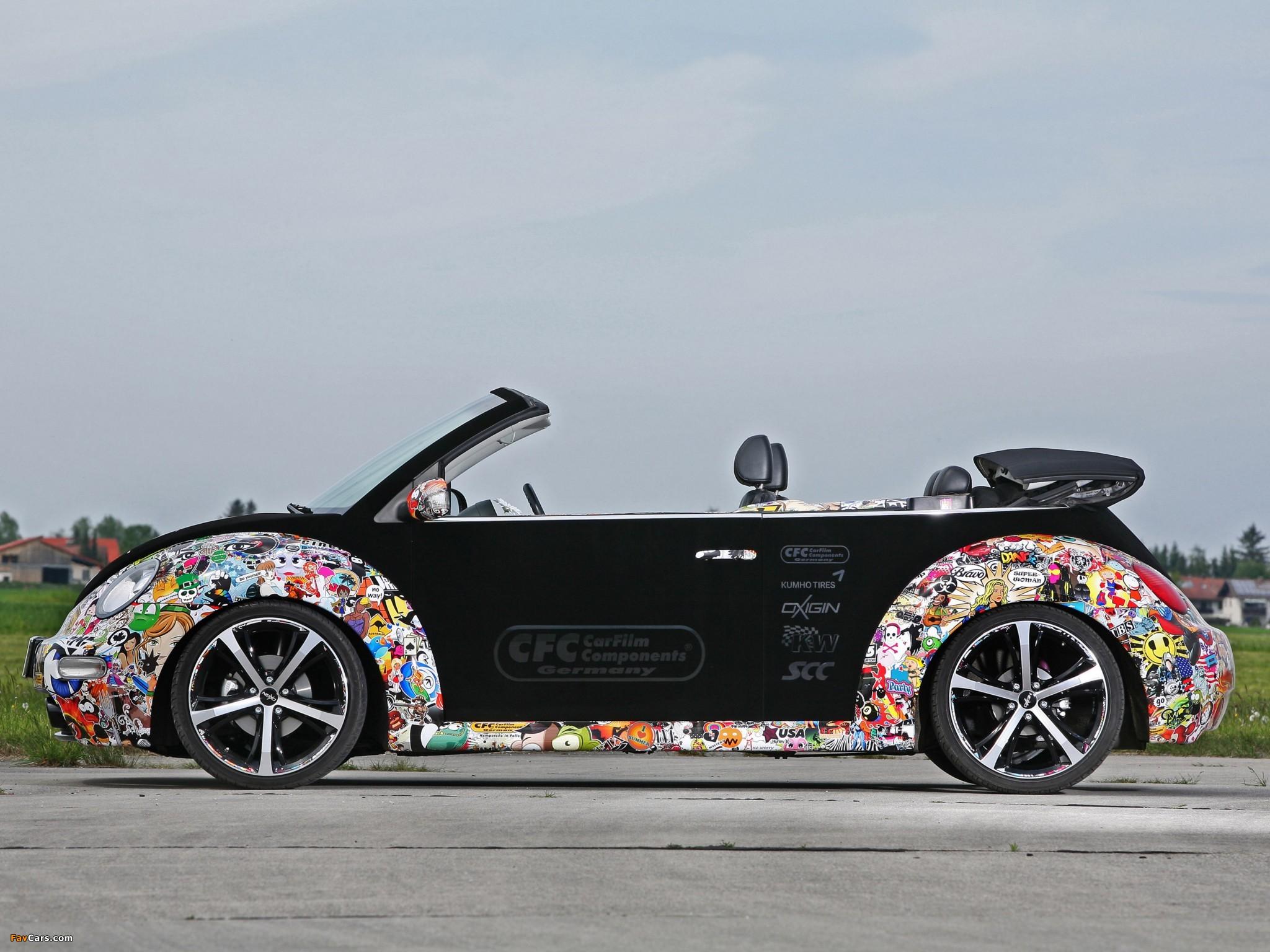 Images of CFC Volkswagen New Beetle Cabrio 2011 (2048 x 1536)