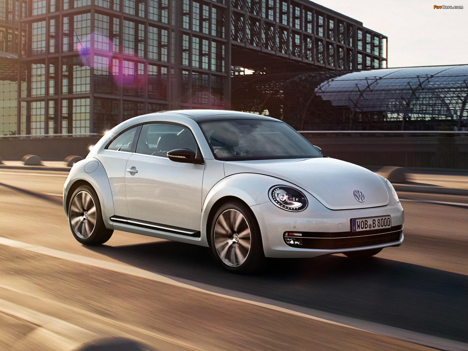 Images of Volkswagen Beetle Turbo 2011 (1600 x 1200)