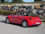 Images of Volkswagen Beetle Cabrio 2012